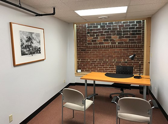 Suite 201, (Knowlton Room) Furnished Office Space without window